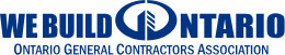 We Build Ontario Logo