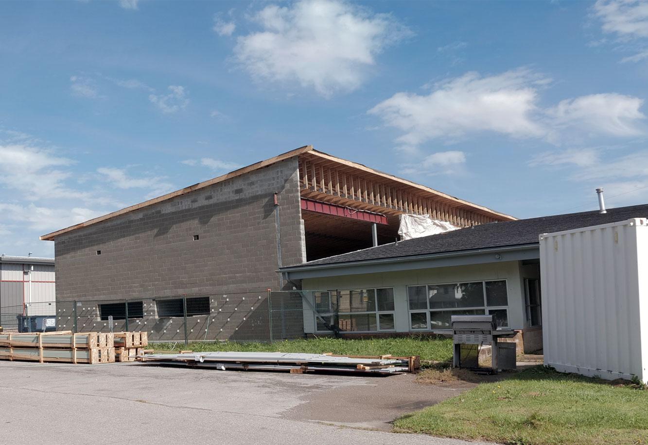 Six Nations Ambulance Building Garage Addition