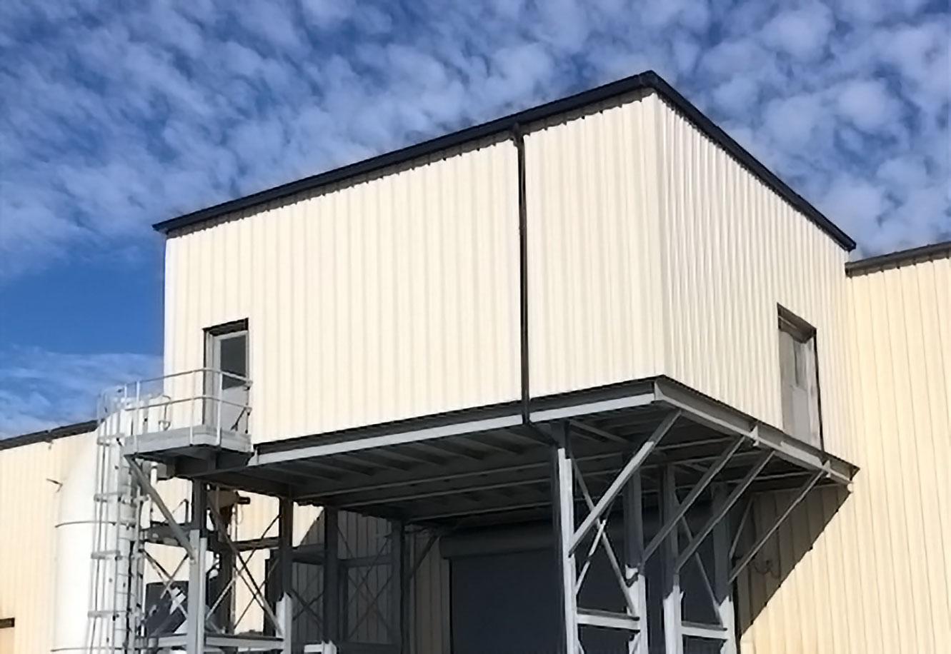 Court Galvanizing - Raised Enclosure Project Picture