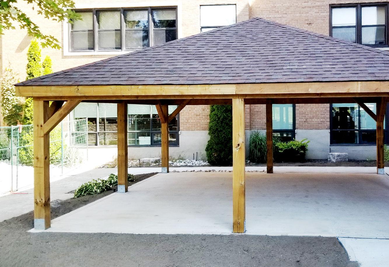 St. Joseph's LIfecare - Gazebo Project Picture