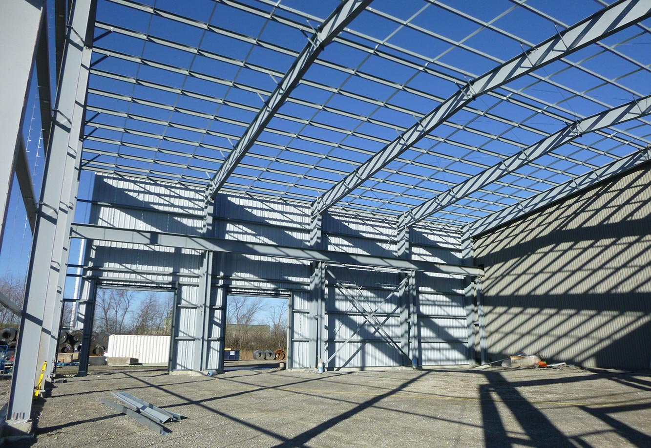 NOVA STEEL - Warehouse Addition Project Picture