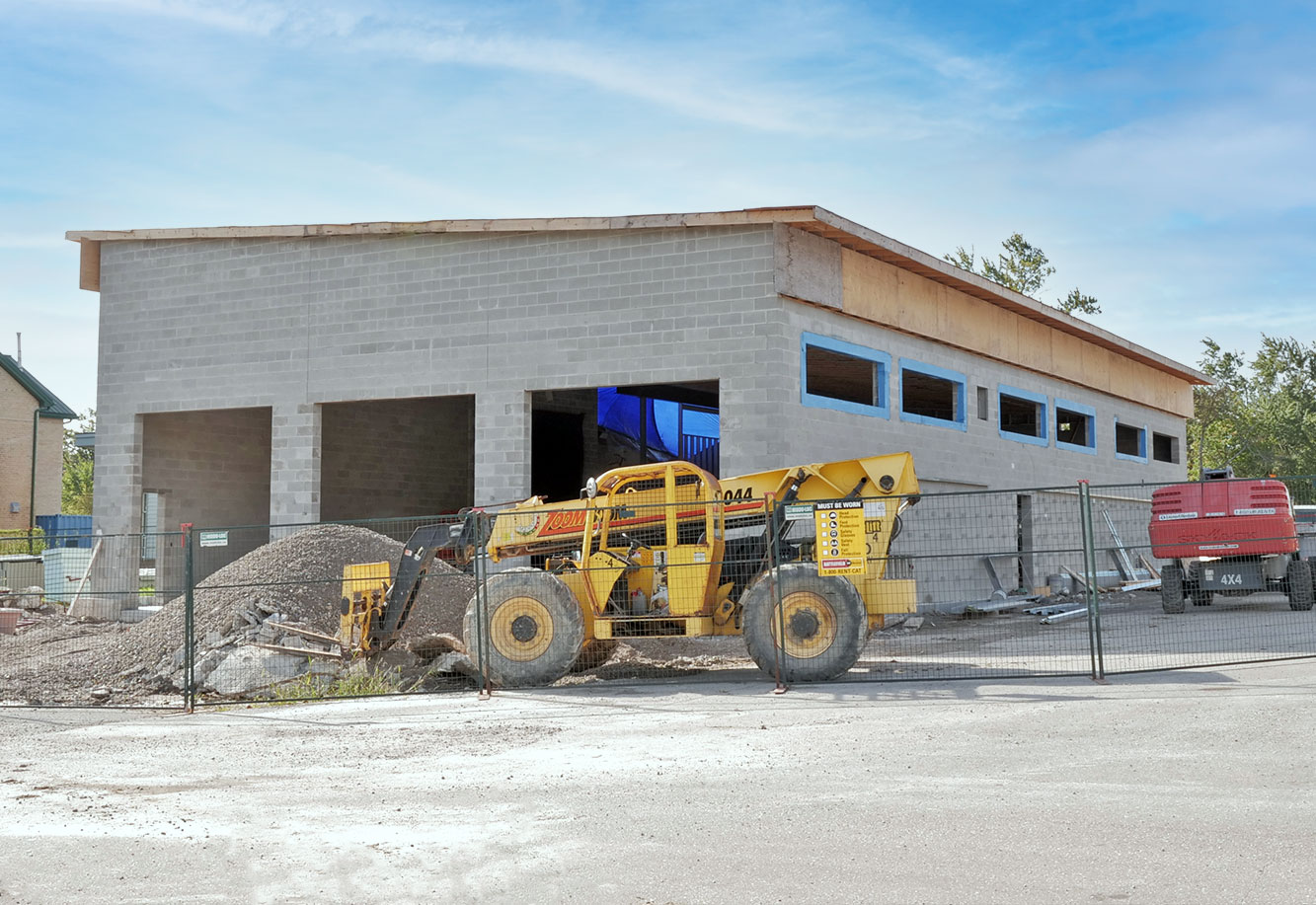 Six Nations Ambulance Building Garage Addition Project Picture
