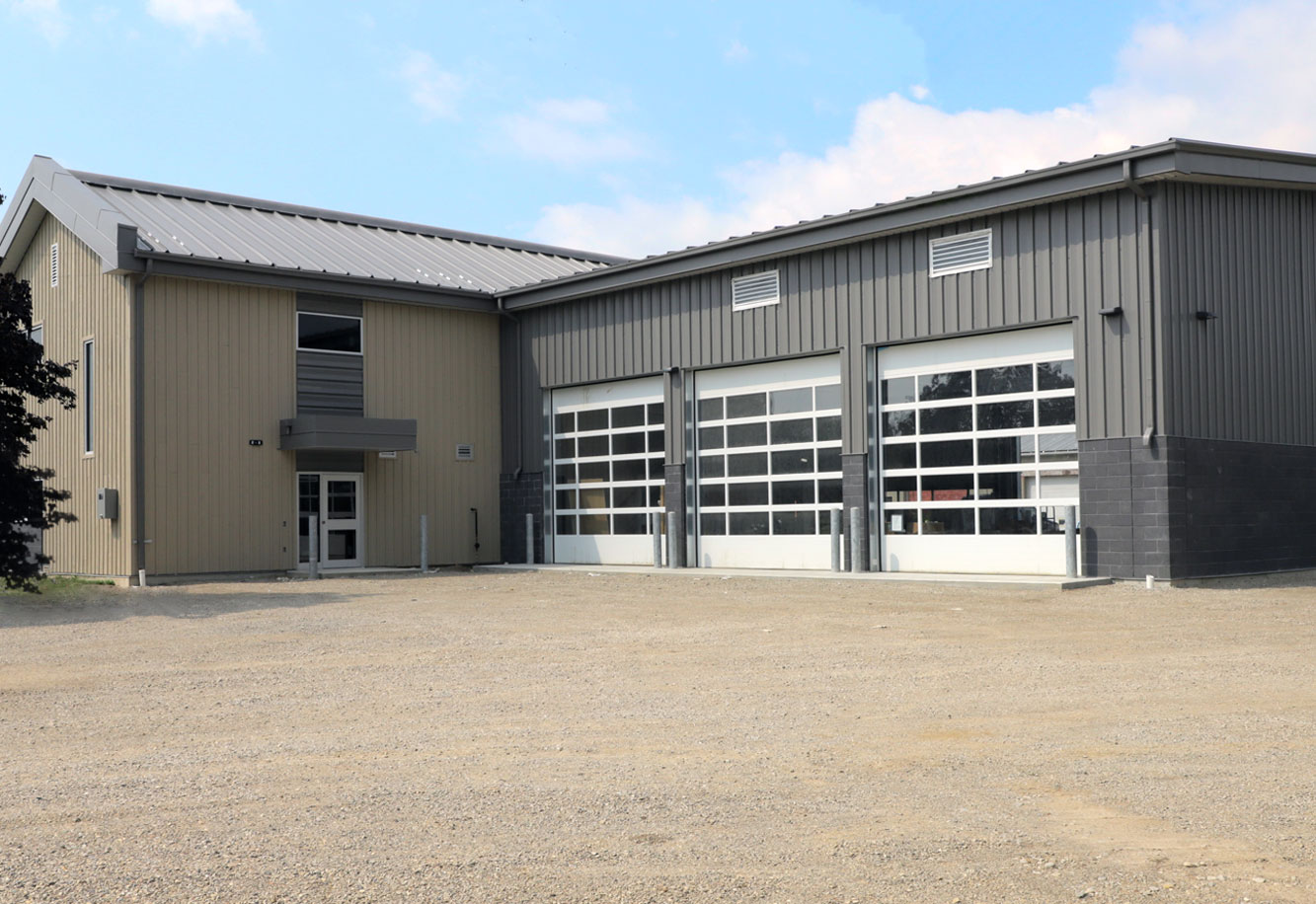 County Brant Fire Stations Project Picture