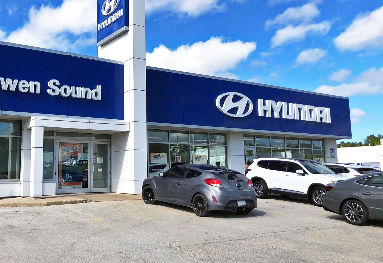 Owen Sound Hyundai Project Picture