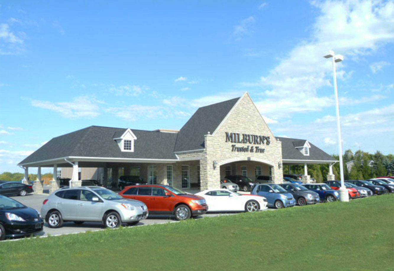 Milburns Auto Sales Service Project Picture