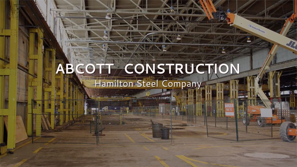 Abcott Timelapse Video – Hamilton Steel Company